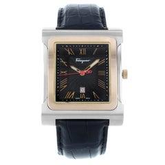 Salvatore Ferragamo Palagio Steel and Gold Quartz Men's Watch F58LBQ9509-S009