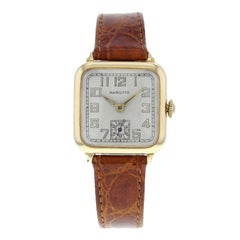 Hamilton Vintage 14 Karat Yellow Gold Winder Unisex Watch