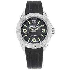 Raymond Weil RW Sport Steel Black Dial Rubber Quartz Men's Watch 8100-SR1-05207