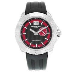 Raymond Weil RW Sport Rubber Black Red Dial 8300-SR1-20041 Quartz Men's Watch
