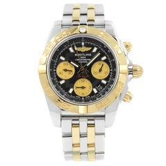 Breitling Chronomat 41 Steel 18 Karat Gold Automatic Watch CB014012/BA53-378C