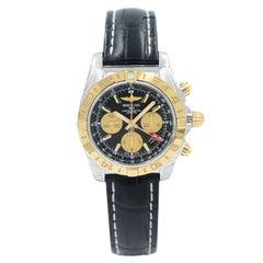 Breitling Chronomat GMT Steel Yellow Gold Automatic Men Watch CB042012/BB86-743P