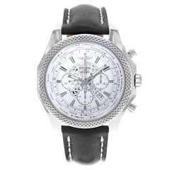 Breitling Bentley Unitime White Dial Steel Automatic Watch AB0521U0/A755-441X