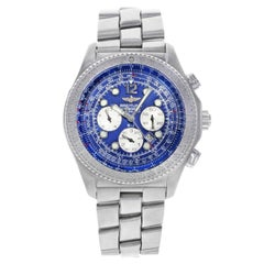 Breitling B-2 Blue Dial Stainless Steel Automatic Men's Watch A42362