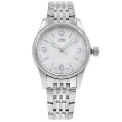 Oris Big Crown Silver Diamond Dial Steel Automatic Men's Watch 733-7649-4031