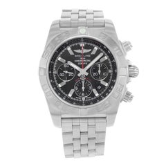 Breitling Chronomat 44 Flying Fish Steel Automatic Mens Watch AB011010/BB08-377A