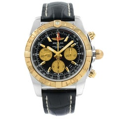 Breitling Chronomat GMT Steel Rose Gold Automatic Mens Watch CB042012/BB86-743P