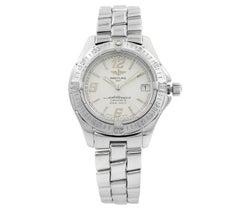 Breitling Colt Oceane Silver Arabic Dial Steel Quartz Ladies Watch A57350