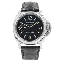Panerai Luminor PAM00312 Stainless Steel Manual Wind Men's Watch