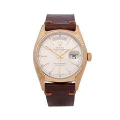 Rolex Day-Date 36 18k Yellow Gold 18038