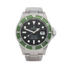 Rolex Submariner Kermit Stainless Steel 16610LV