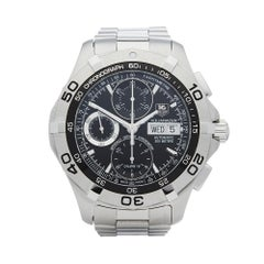 Tag Heuer Auqaracer stainless steel CAF5010 Gents Wristwatch
