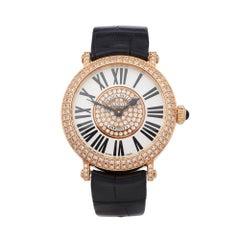 Franck Muller Infinity 18K Rose Gold 8032QZRD1P5N Wristwatch