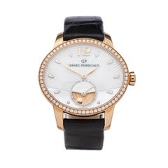 Girard Perregaux Cats Eye 18K Rose gold 80488D52A751CK6 Ladies Wristwatch