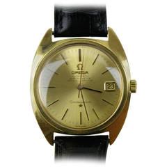 Omega Yellow Gold Constellation Automatic Wristwatch