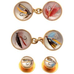 Fly Fishing Gold Gentleman's Dress Set