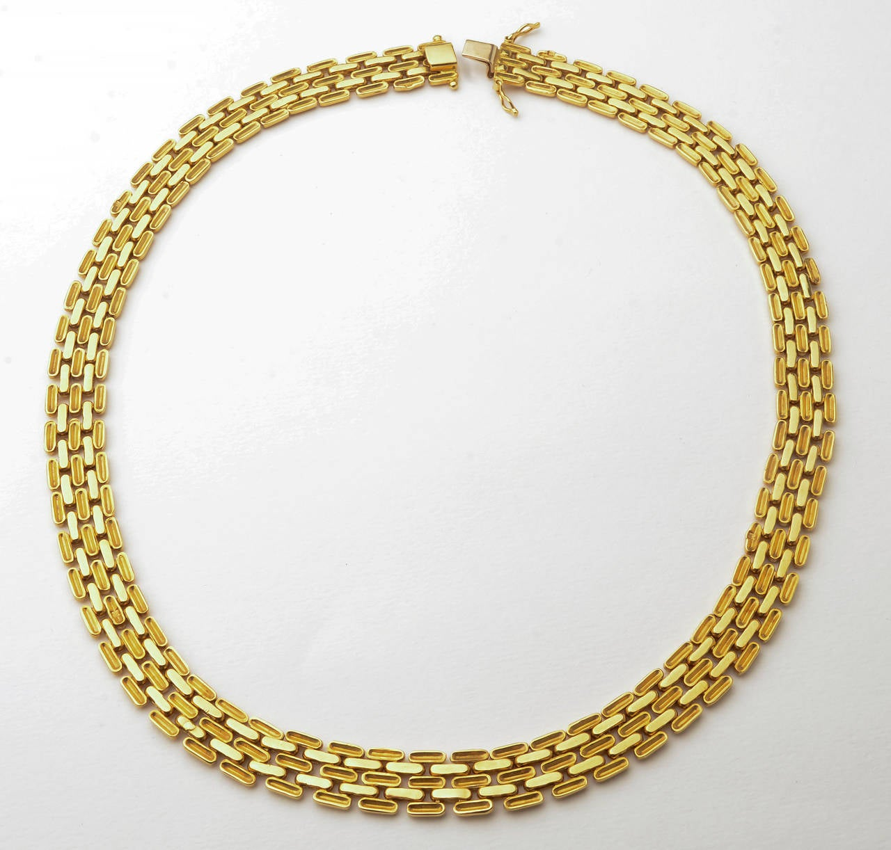 Gold Choker Necklace 2