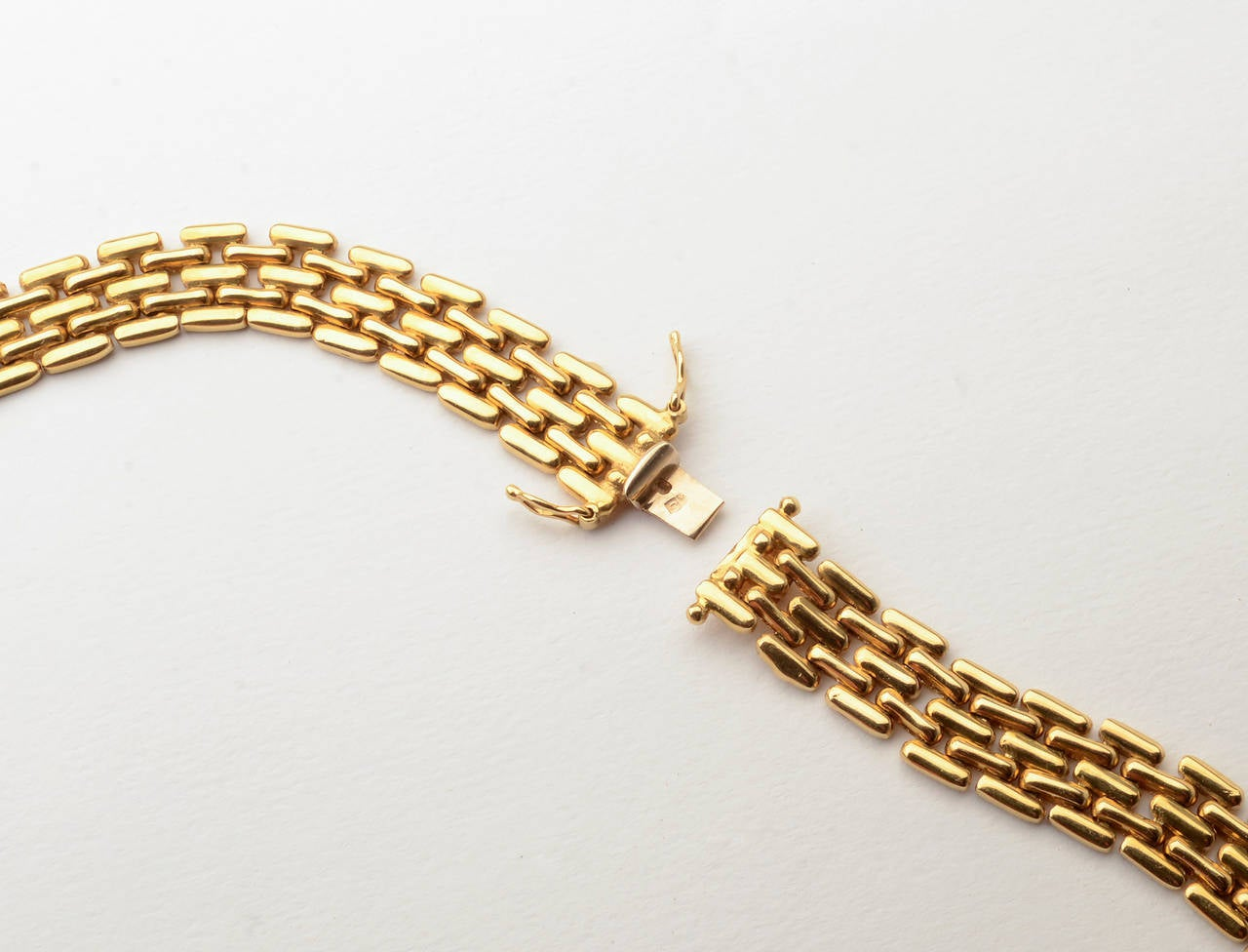 Gold Choker Necklace 3