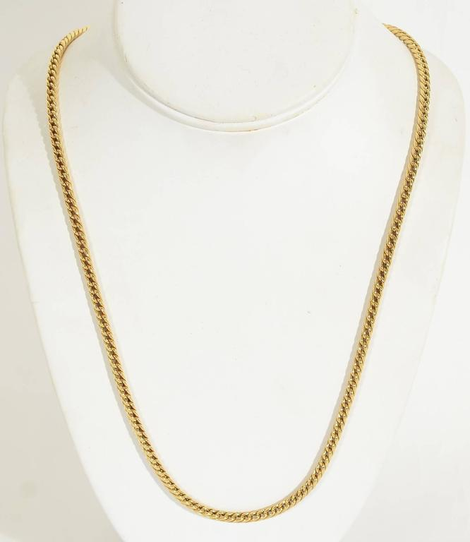 Van Cleef & Arpels Long Gold Chain Necklace 2