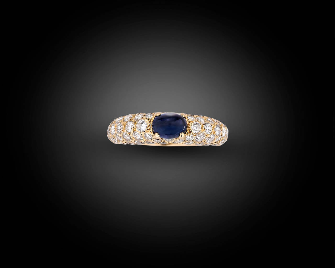Cartier Cabochon Sapphire Ring 2