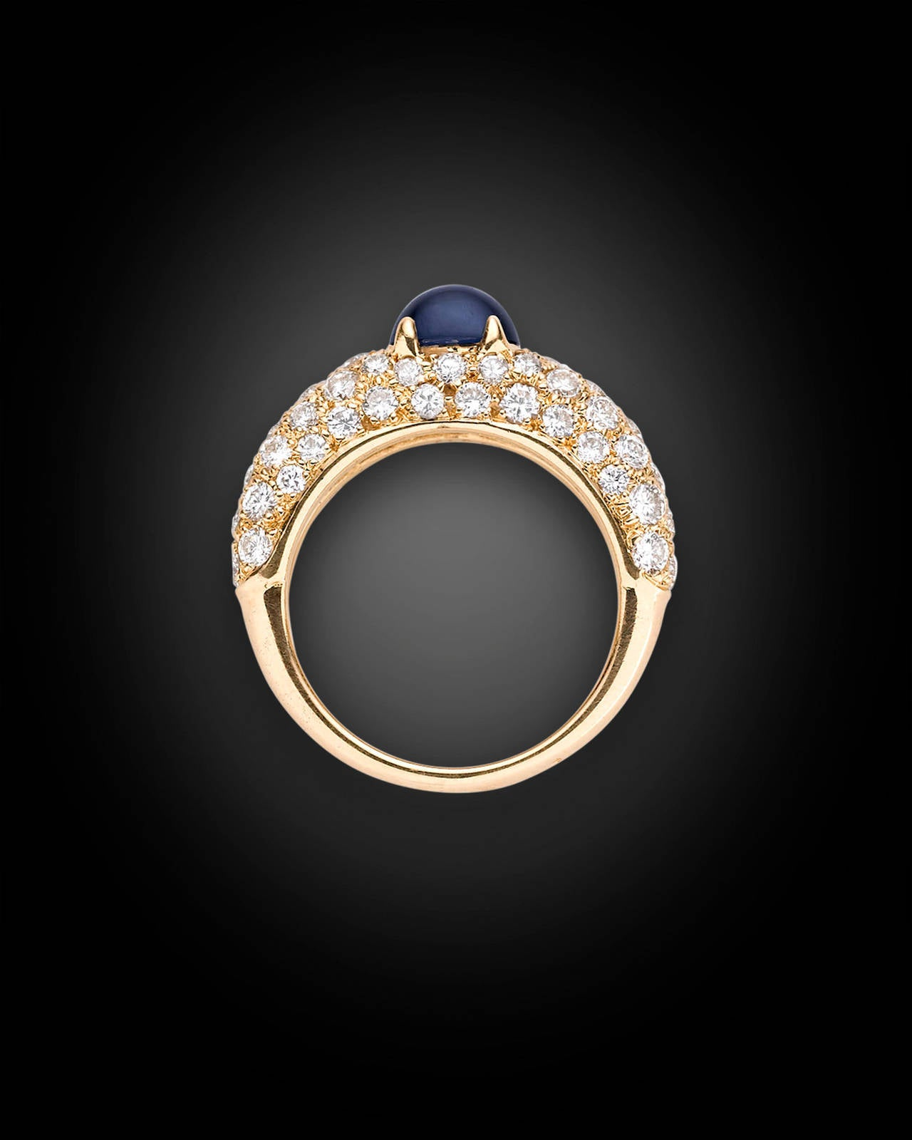 Cartier Cabochon Sapphire Ring 4