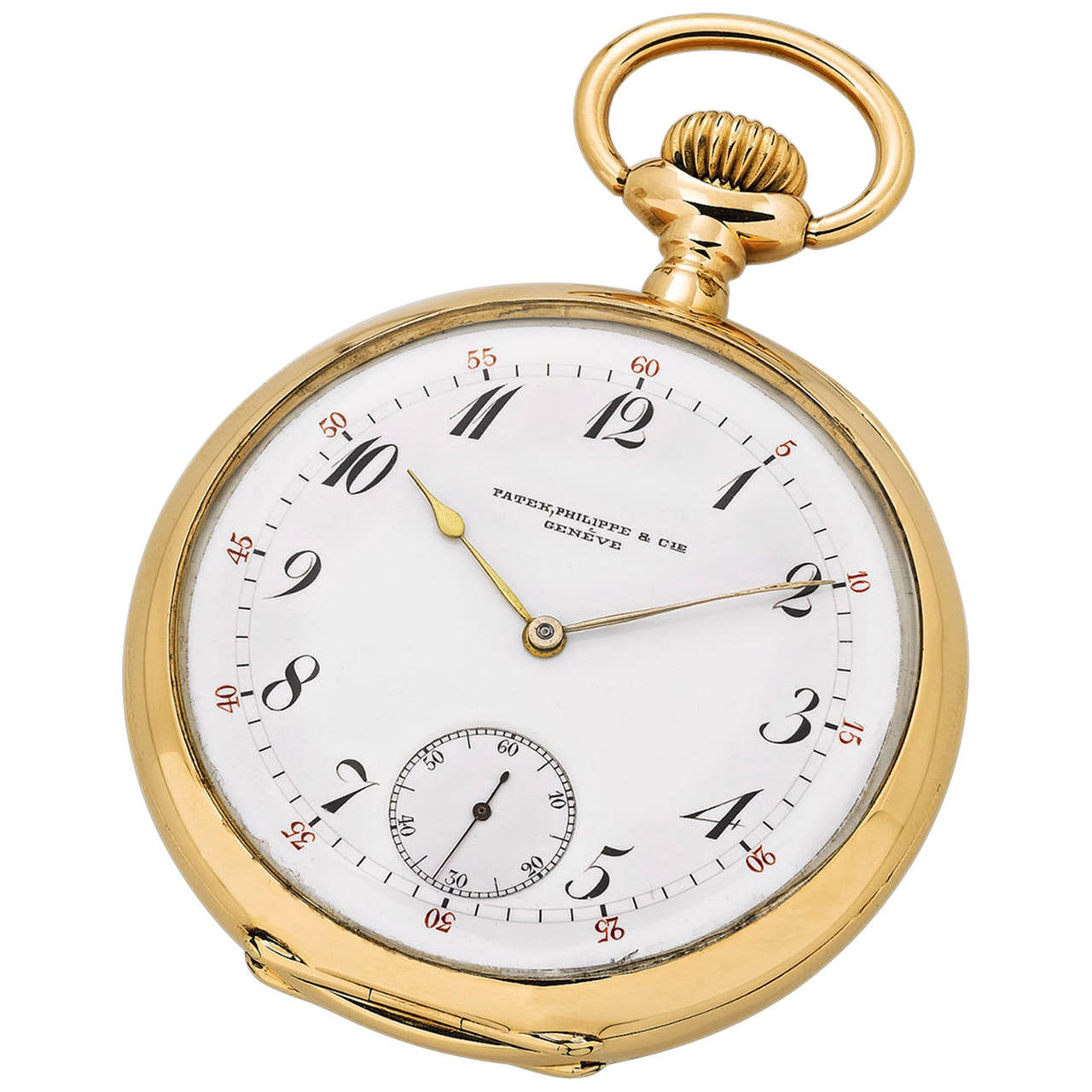 Patek Philippe Yellow Gold Imperial Russian Chronometro Gondolo Pocket Watch