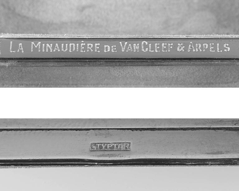 Van Cleef & Arpels Ruby Styptor Minaudiere In Excellent Condition In New Orleans, LA