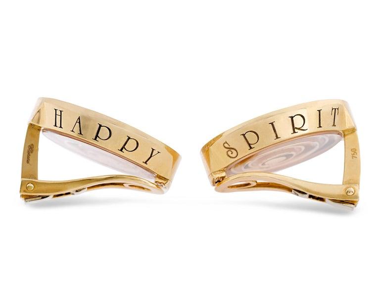 Chopard Happy Spirit Diamond Earrings 2