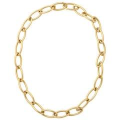 Verdura Open Chain 18 Karat Gold Necklace / Bracelet