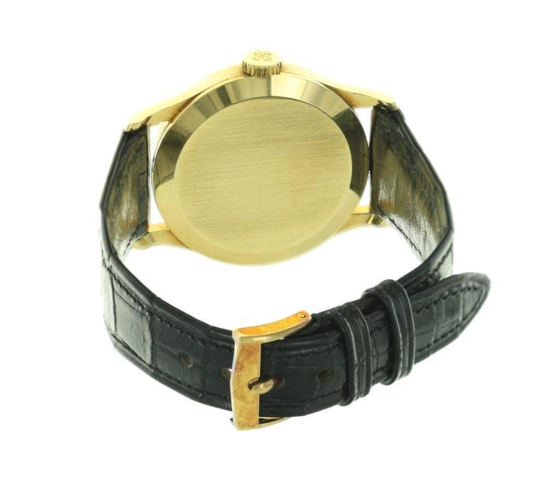 Patek Philippe Yellow Gold Calatrava  Wristwatch Ref 570 4