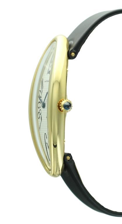 Cartier Yellow Gold Baignoire Allongee Wristwatch 2