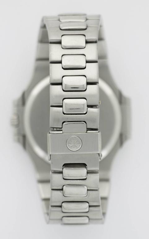 Patek Philippe Stainless Steel Nautilus Wristwatch Ref. 3700  For Sale 2