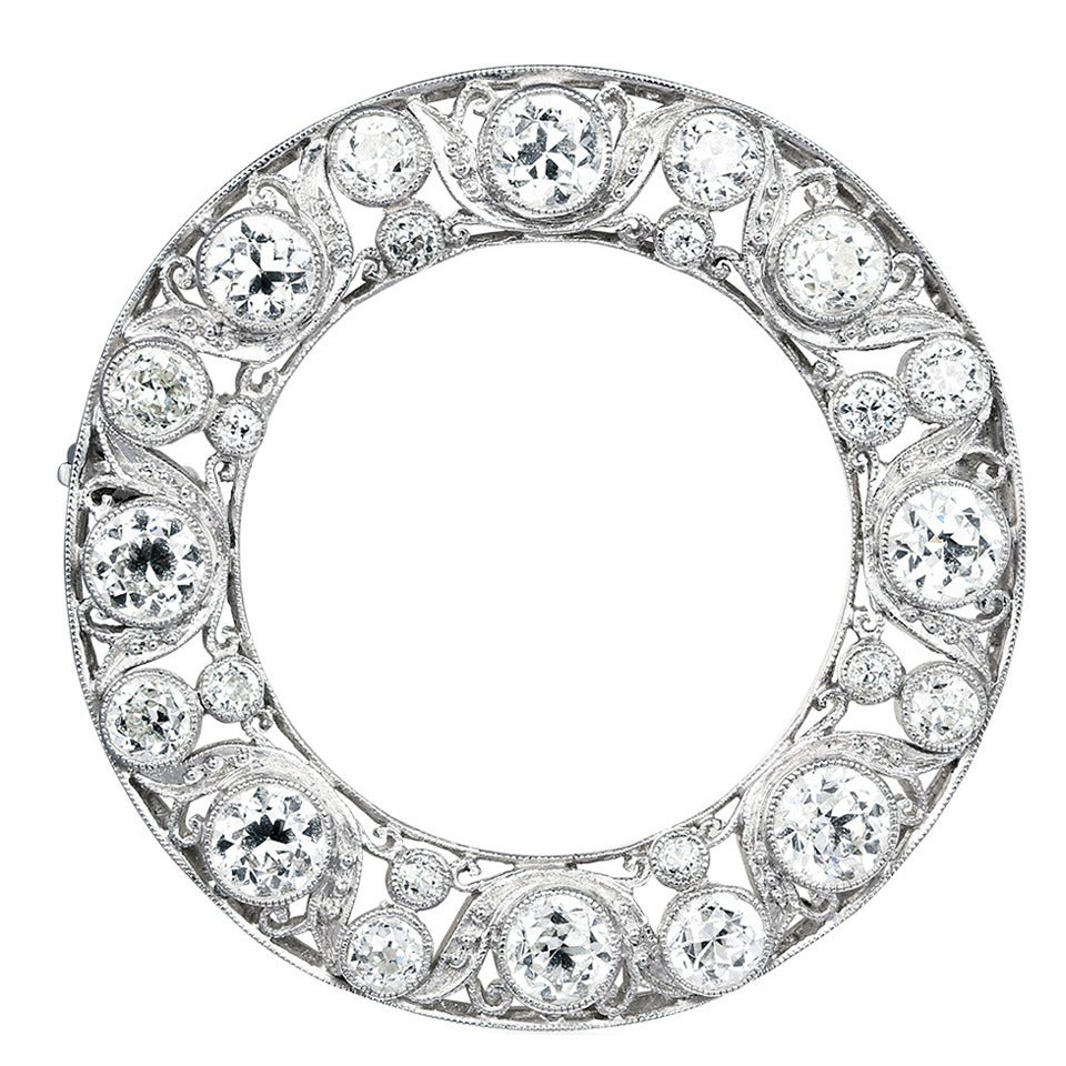 Belle Epoque Diamond Pin