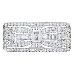 1920's  Art Deco Diamond pin