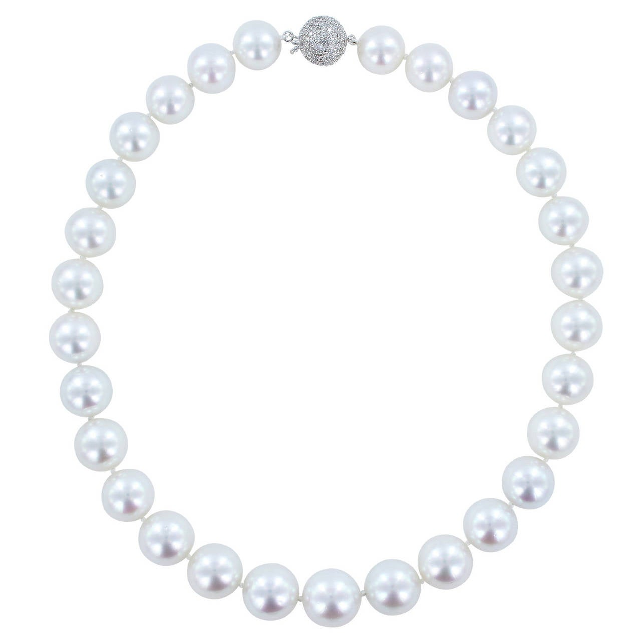 13-14 Millimeter South Sea Pearl Necklace