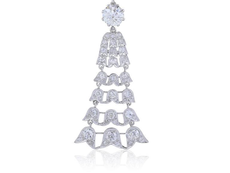 45 Carat Edwardian Sautoir Diamond Necklace 2