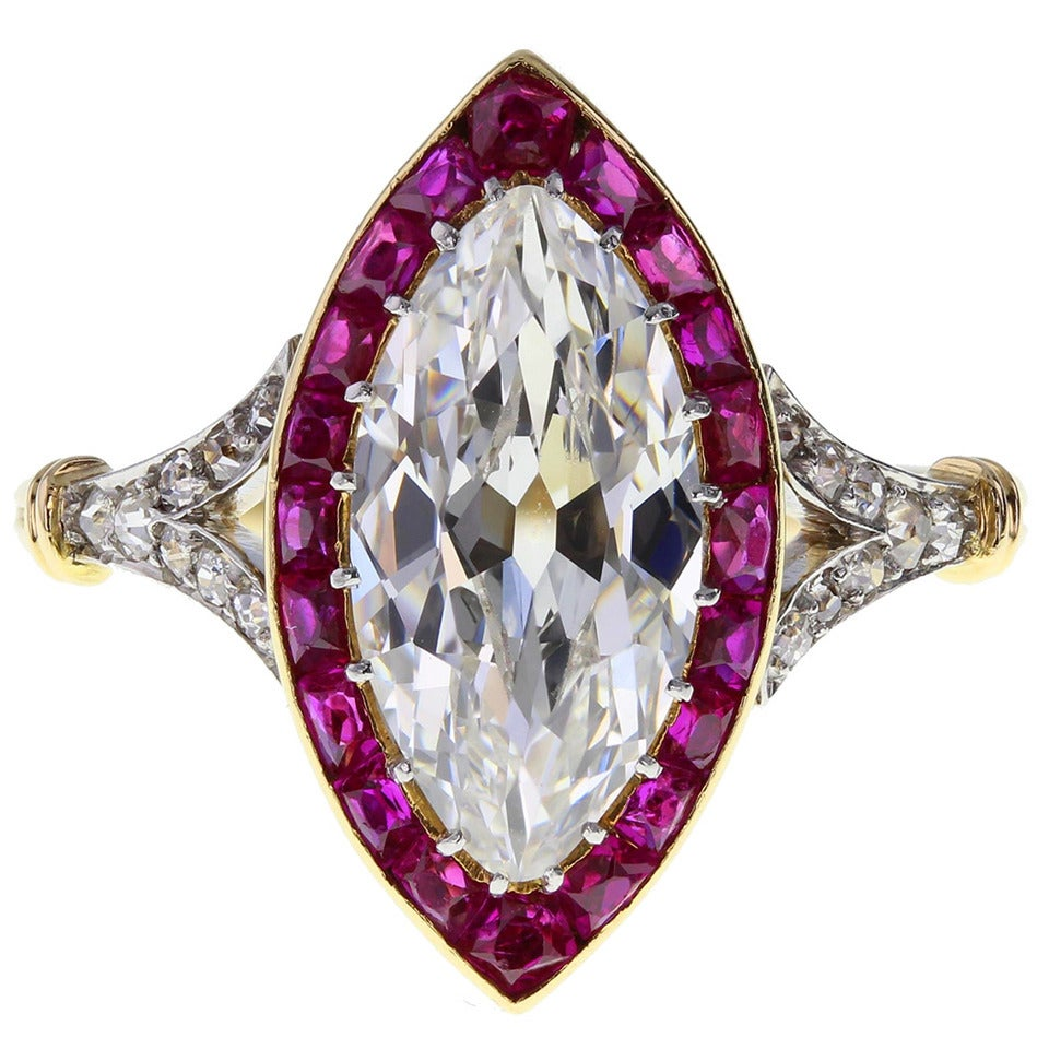 the queens sister princess margarets diamond ruby ring