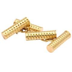 1980s Gucci Gold Cufflinks