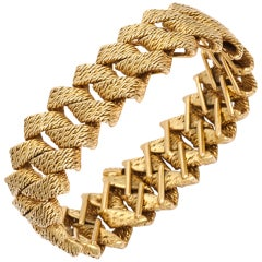 Georges Lenfent Gold Bracelet For Tiffany & Co. Paris