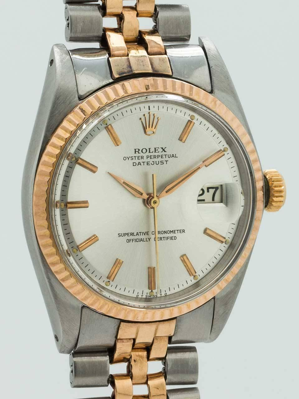 Celebrity With Rose Gold Datejust