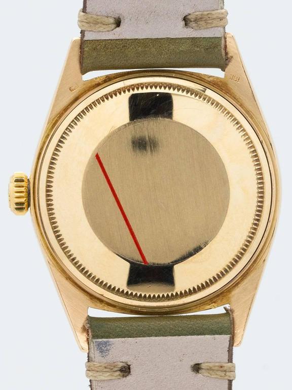 Rolex Yellow Gold Datejust Wristwatch Ref 1601 4