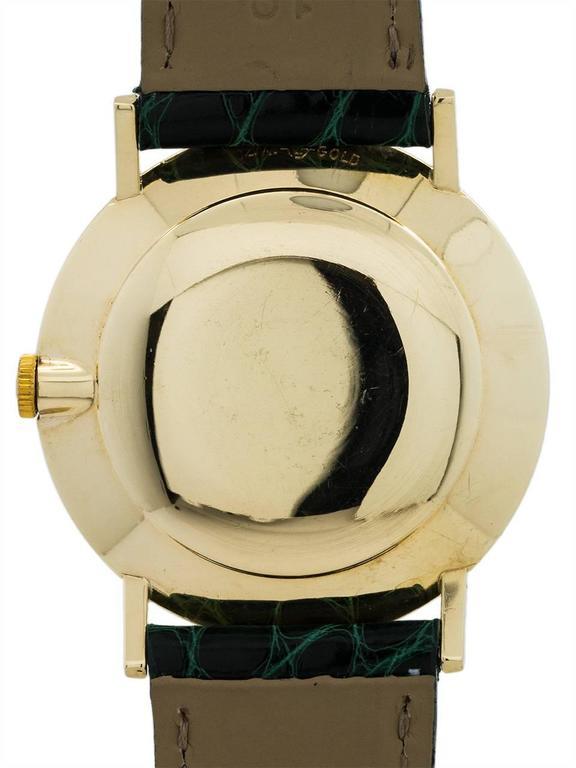 Rolex Yellow Gold Manual Wind Dress Wristwatch Model 8469, circa 1960s 4