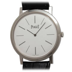 Piaget White Gold Altiplano Wristwatch Ref GOA29112