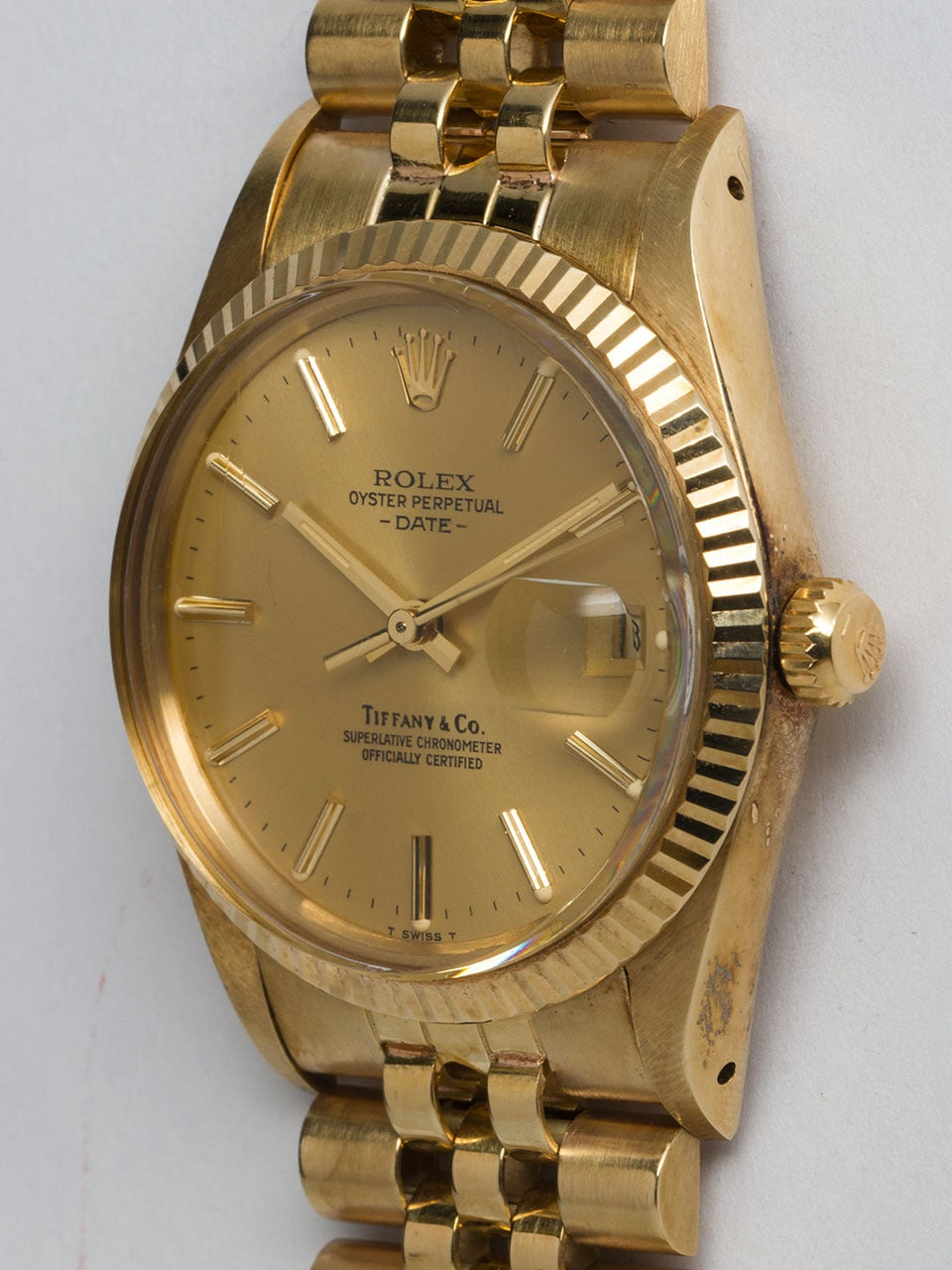 Rolex Oyster Perpetual Gold