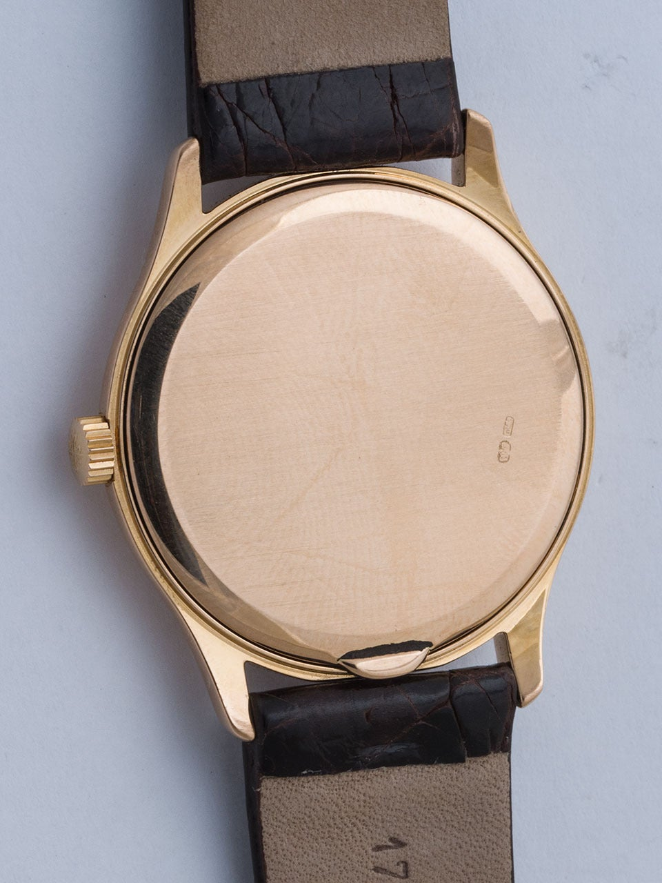 Patek Philippe Rose Gold Wristwatch Ref 3923 4
