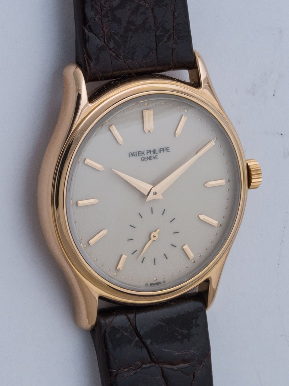 Patek Philippe Rose Gold Wristwatch Ref 3923 2
