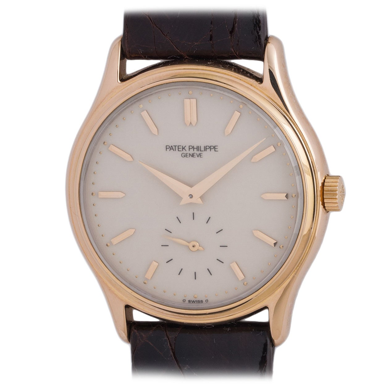 Patek Philippe Rose Gold Wristwatch Ref 3923 1