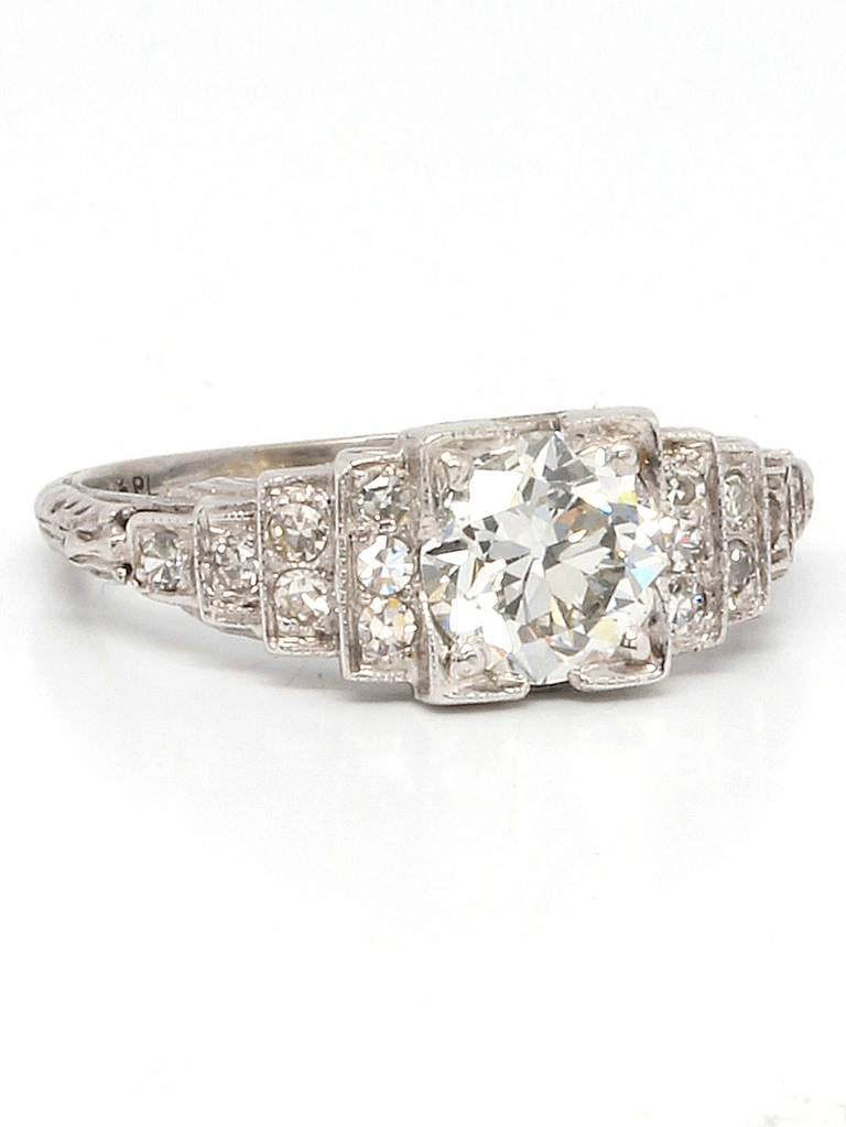 Art Deco Style Diamond Rings