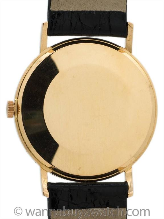 Juvenia Rose Gold Dress Model Wristwatch In Excellent Condition For Sale In West Hollywood, CA
