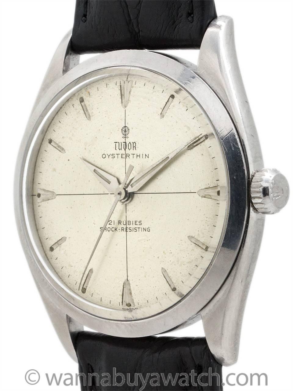 6117ffdc74 Tudor Oyster-Thin ref 7960 circa 1960 at 1stdibs